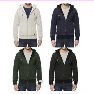 Buffalo-Men-039-s-Sherpa-Lined-Full-Zip-Hoodie-Jacket