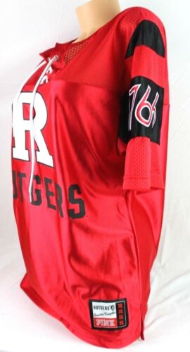 Neuf Pull Victoria's University Secret F101 Rutgers Rose Lacet Boyfriend over 8xY68nw