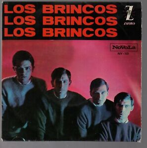 Los-Brincos-Flamenco-Nila-7-034-Single-1964-Bravos