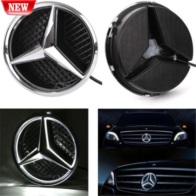 For Mercedes Benz 2011-2015 Illuminated LED Light Front Grille Star Emblem Badge