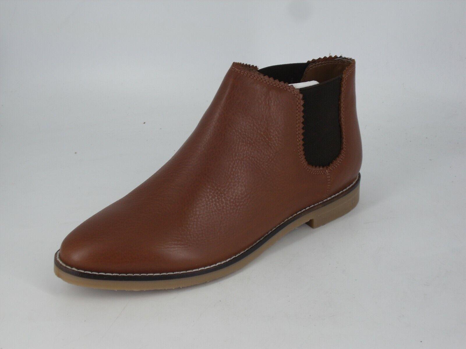 White Stuff Faye Flat Chelsea Boot Tan Size UK 6 EU 39 NH10 84