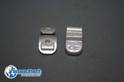 50x Masserelle di equilibratura cerchi in acciaio zinco zinco pesi colpo pesi 5g