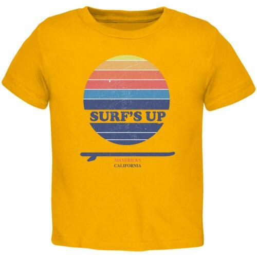 Surf/'s Up Mavericks California Toddler T Shirt