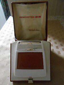 vintage shaver Remington 25 DELUXE