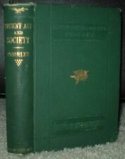 1874, RECENT ART AND SOCIETY, MEMOIRS HENRY FOTHERGILL CHORLEY, by C H JONES