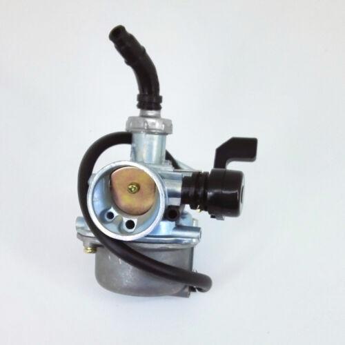 PZ19 Carburetor w// Filter Choke 50cc 70cc 90cc 110cc 125cc Chinese ATV Quad Go-k