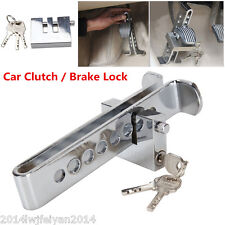 Autos Anti-Theft Device 8 Hole Stainless Steel Clutch Lock Car Brake Safety Lock
