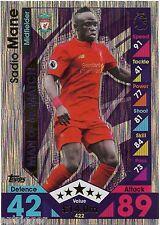 2016 / 2017 EPL Match Attax Man of the Match (422) Sadio MANE Liverpool