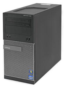 Fast Reliable Office/Media PC Dell Optiplex 390 8GB Ram 240GB SSD WIFI Win 10