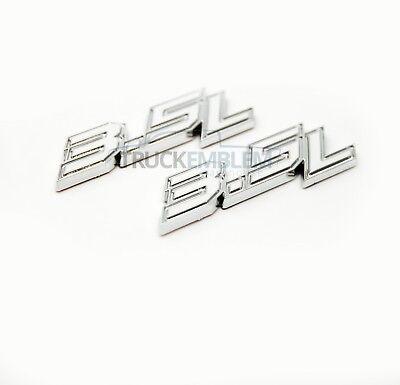 Red 2 Pack F150 XL Badge 3D logo Nameplate Fender Emblems Pair Set Compatible For 2015 2016 2017 2018 2019 F150 XL