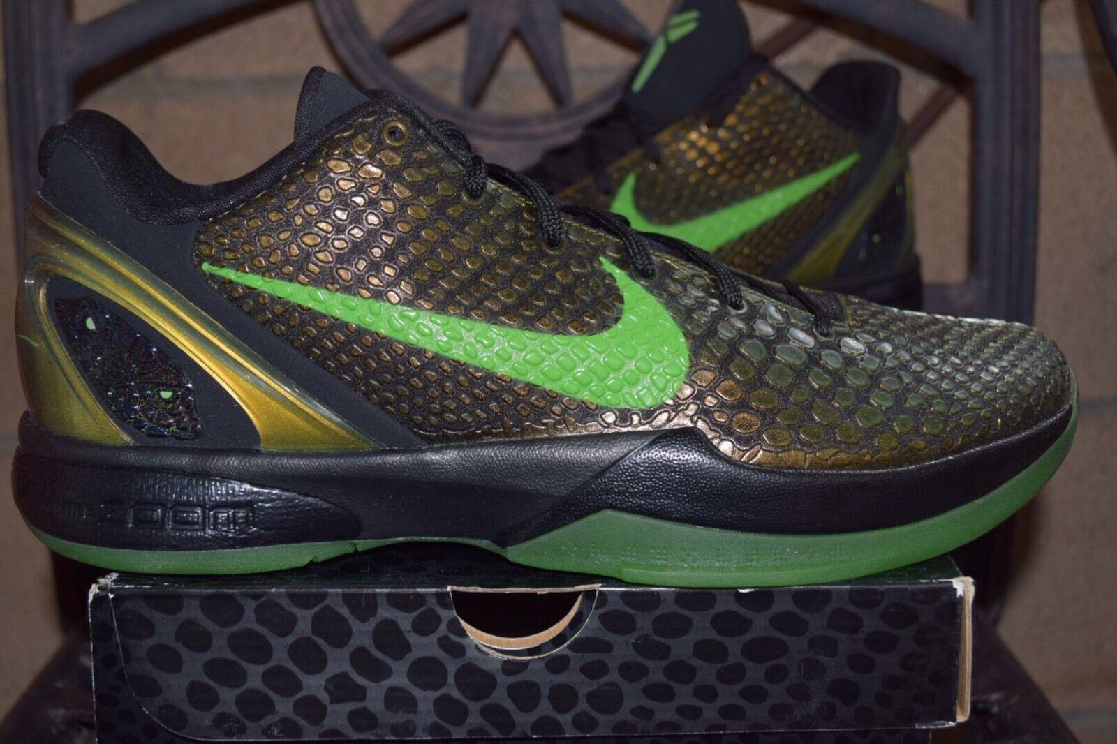 DS 2011 Nike Zoom Kobe VI Tagged 6 Rice H.S. Promo Tagged VI 999999 Size 13 36345f