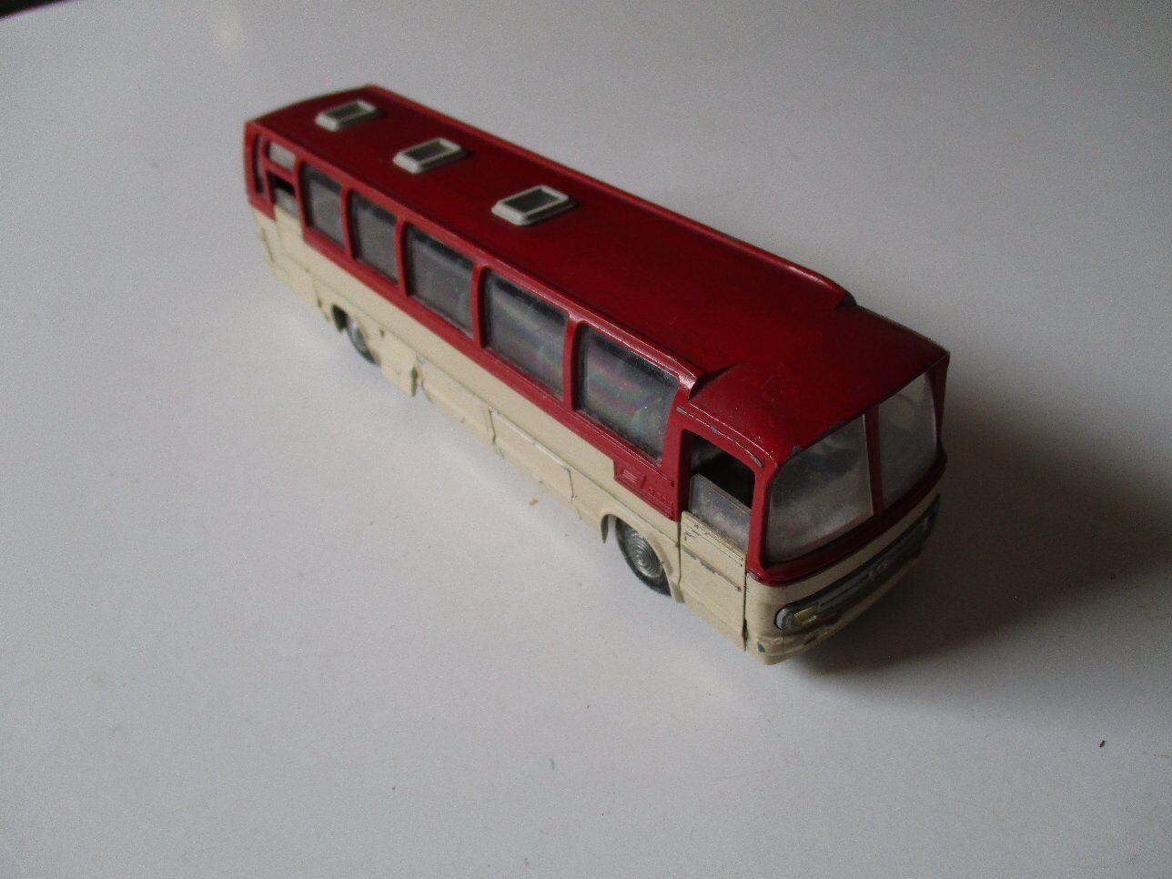 TEKNO Dinamarca modelo coches autobuses Mercedes-Benz O 302 rojo blancoo blancoo blancoo 19 cm 60 de 70 de57a7