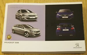 genuine peugeot 308 hatchback estate owners manual handbook 2013 rh ebay co uk Peugeot 206 Peugeot 307