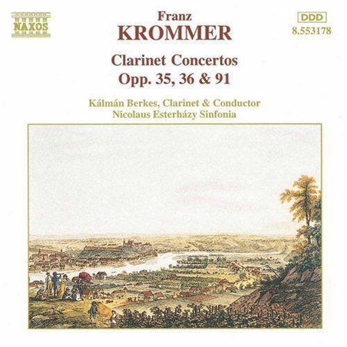 1 of 1 - Kalman Berkes - Clarinet Concertos [New CD]