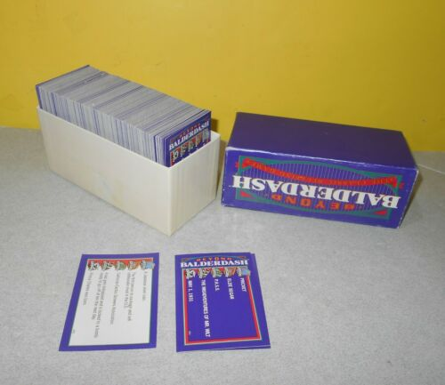 1997 Parker Brothers Beyond Balderdash Replacement Game Cards Set Party Ideas