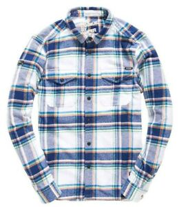 c693744772 Image is loading Superdry-Men-039-s-Rookie-Optic-Check-Plaid-