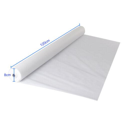 1.2 X 25M Tischdecken Nicht-gewebtes Tisch-decken Tuch wischfest Esszimmer Weiß
