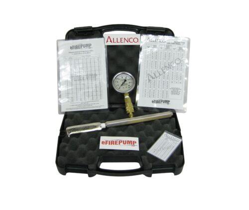 Bomba contra incendios allenco Kit de Tubo de Pitot para Manguera de prueba de flujo monstruos con Manómetro calibrado