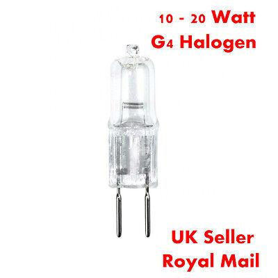 G4 10W 20W Halogen Light Bulbs Long Life Capsule Lamps 12v