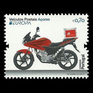 Azores-2013-Europa-2013-034-Postal-Vehicle-034-Motorcycle-Sc-552-MNH