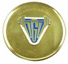 #e5942 DDR Medaille Deutscher Gewichtheber-Verband ab 1958 in Anerkennung DGV