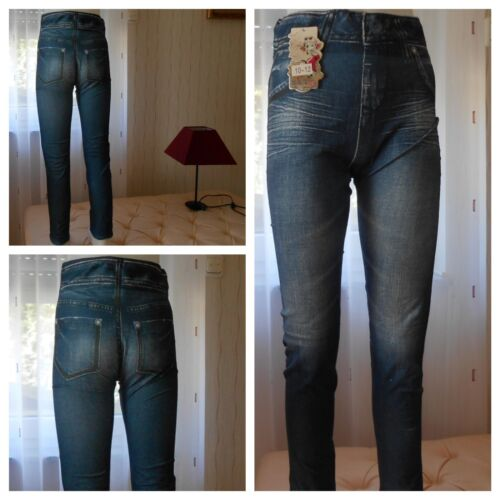Leggings Jeanshose Hose Treggings Mädchen Jeans Optik Gr86,92,98,110,122,134