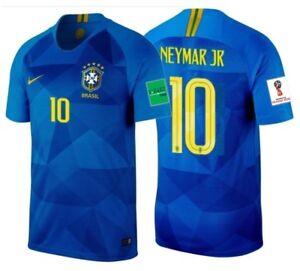 806094445 Image is loading NIKE-NEYMAR-JR-BRAZIL-AWAY-JERSEY-WORLD-CUP-