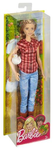 Barbie Careers Barbie Farmer Doll with Chicken