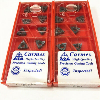 10pcs Carmex 16ER 11 W BMA High quality Threaded blade Carbide Inserts