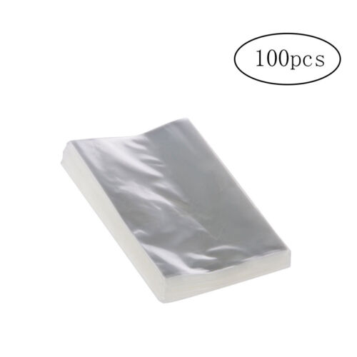 100pcs OPP Clear Bags Cellophane Bags for Bakery Candy Soap Cookie Gifts