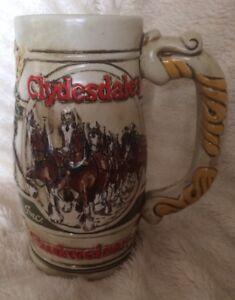 Ceramarte-Anheuser-Busch-Clydesdales-Budweiser-Stein-Limited-Edition-1991