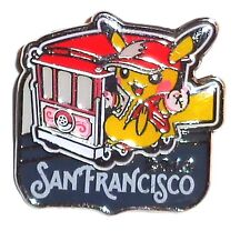 POKEMON PINS PIN's PIKACHU OFFICIAL OFFICIEL PIN 2016 SAN FRANCISCO (Mint Cond.)