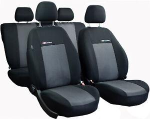Universal Sitzbezüge für Volkswagen Caddy III Blau Autositzbezug Schonbezüge