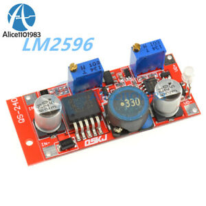 LM2596 DC Step-Down Adjustable CC//CV Power Supply Module Converter LED Driver D