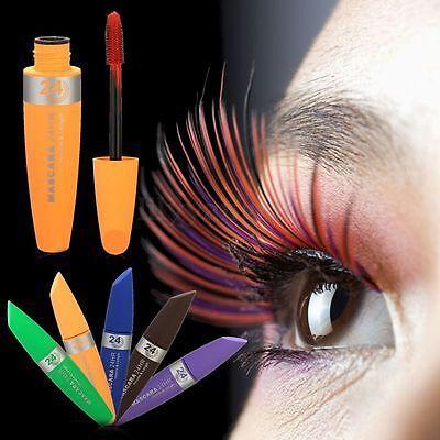 Long Curling Makeup Brush Eyelash Waterproof Fiber Mascara Eye Lashes Cosmetic