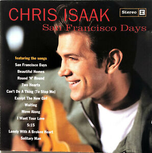 Chris-Isaak-CD-San-Francisco-Days-Germany-EX-VG