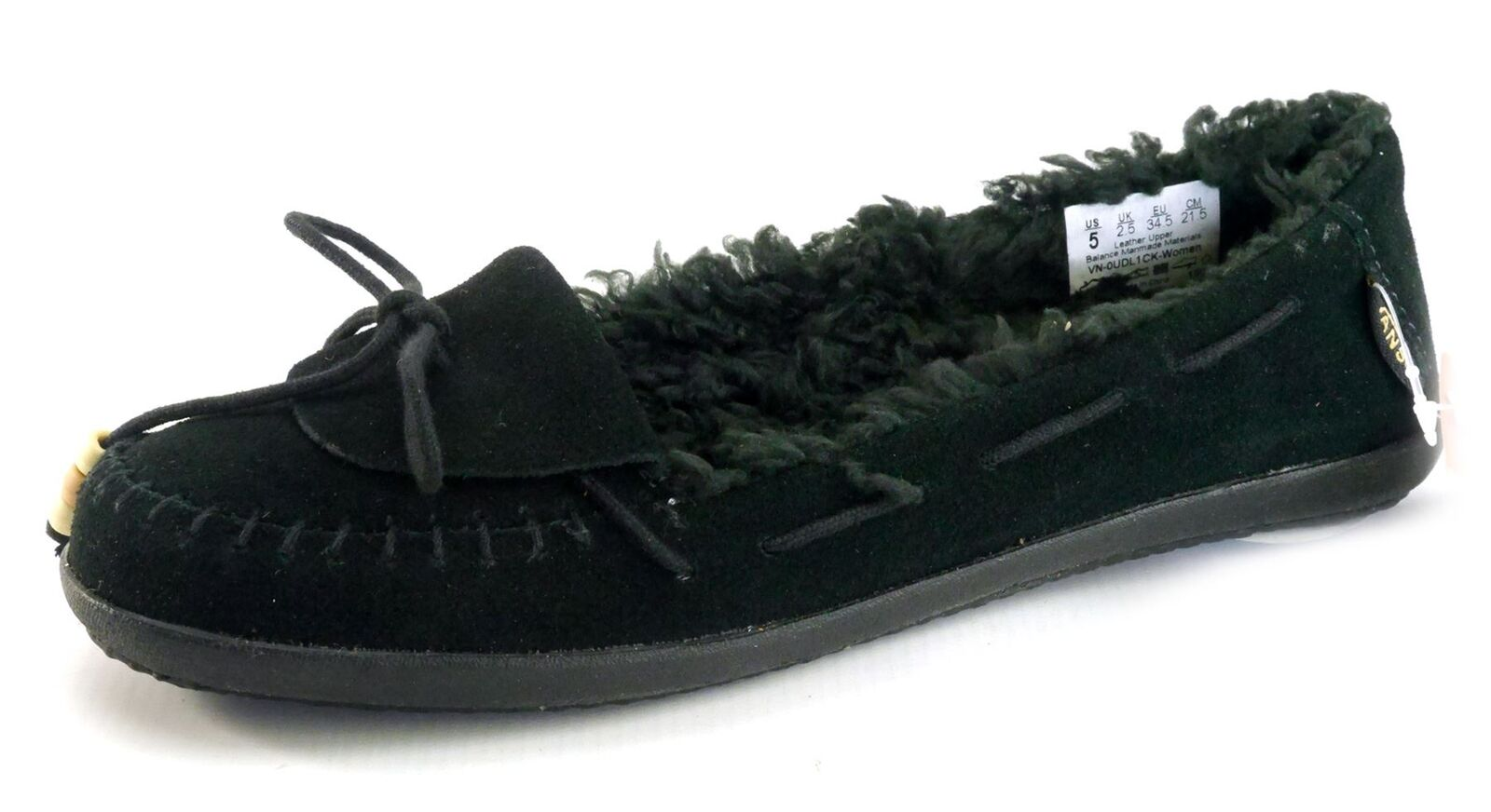 Vans femmes noir Polaire Tennis Décontractées Chaude chaussures noires