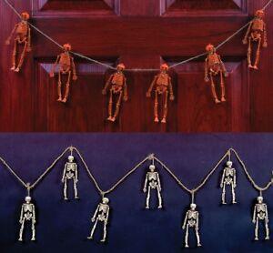 Scary-Skeleton-Pumpkin-Skull-Outdoor-Garland-Halloween-House-Yard-Decoration