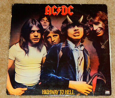 AC/DC - Highway To Hell (LP, 1979, Vinyl, SD 19244, AC DC ...