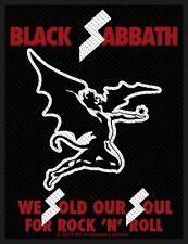 BLACK Sabbath-Patch ricamate-Sold Our Souls 10x7cm