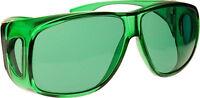 (10 Colors) Color Therapy Glasses Fits Over Prescription Glasses - Sunglasses