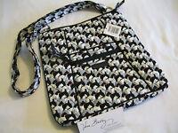 Vera Bradley Scottie Dogs Large Hipster Wallet Crossbody Shoulder Coin Bag