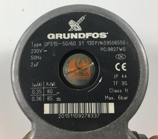 P//N:59506550 Grundfos Heizungspumpe UPS 15-50 S1 130