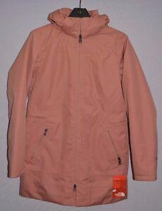 North-Face-Women-039-s-Jacket-Ancha-Insulated-Waterproof-Hooded-Parka-Mahogany-M-New