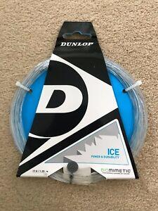 3 X Dunlop Ice Raquette De Tennis String Naturel-afficher Le Titre D'origine Haute Qualité Et Bas Frais GéNéRaux