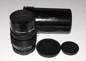 EXC-Pentacon-2-8-135-German-Lens-15-blades-M42-mount-same-as-Meyer-Orestor