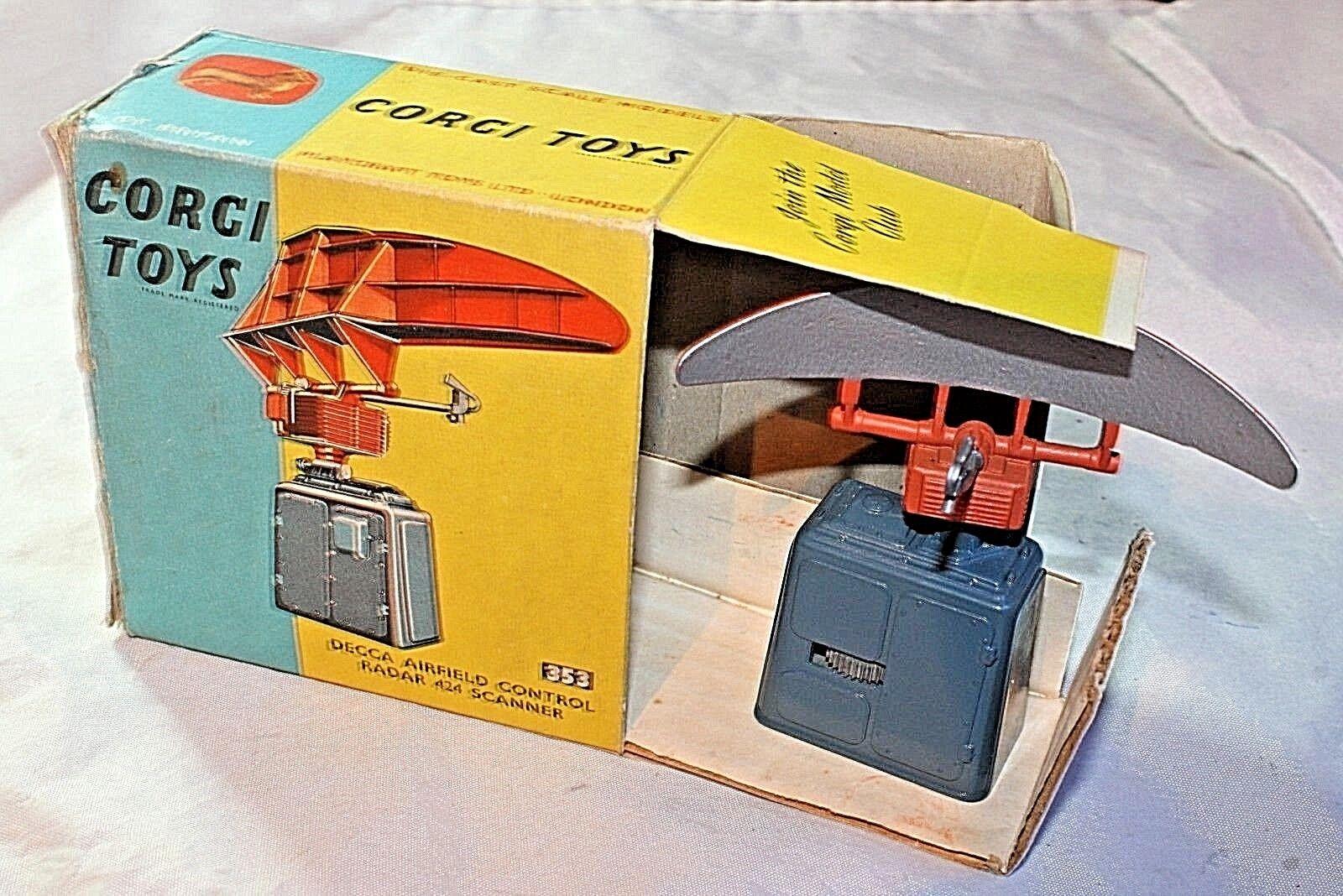 Corgi R A F escáner, Excelente En Caja Original con pieza de embalaje