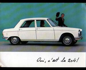 MERLEBACH-67-CONCESSIONNAIRE-AUTOMOBILE-PEUGEOT-034-J-DERR-034-Peugeot-204