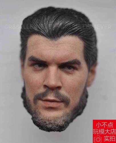 custom Hot 1//6 scale Head Sculpt Ernesto Che Guevara The Hero of Cuba Revolution