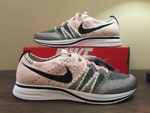 meet e18c8 d6131 Image is loading Nike-Flyknit-Trainer-Sunset-Tint-Size-12-AH8396600-